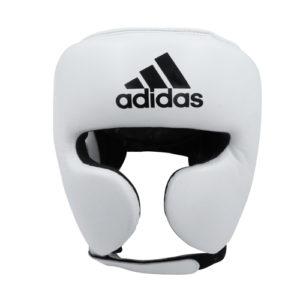 Adidas AdiStar Pro Head Guard – White/Black