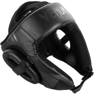Venum Challenger Open Face Headguard – Black/Black