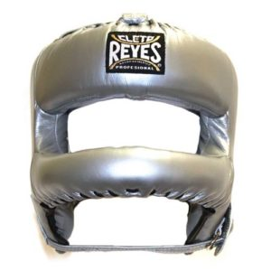Cleto Reyes Headguard with Rounded Nylon Bar – Platinum