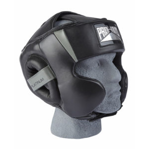 Pro-Box Signature Series Headguard – Black/Grey
