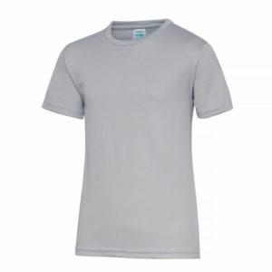 UNBRANDED Junior/Kids Lightweight Cool T-Shirt – Heather Grey