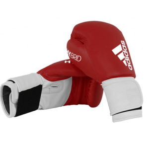 adidas Hybrid 100 Boxing Glove – Red/White