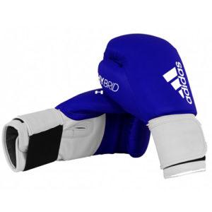 adidas Junior Hybrid 100 Boxing Glove – Blue/White [6oz or 8oz]
