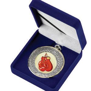 Velvet Medal Award Box