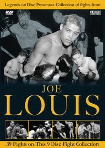 Legends On Disc – Joe Louis 39 Fights 9 Disc's