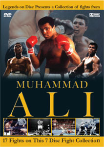 Legends On Disc – Muhammad Ali 17 Fights 7 Disc's