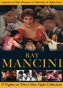 Legends On Disc – Ray Mancini 17 Fights On 6 Discs