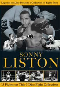 Legends On Disc – Sonny Liston 13 Fights 3 Disc's