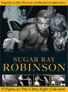 Legends On Disc – Sugar Ray Robinson 17 Fights 6 Disc's