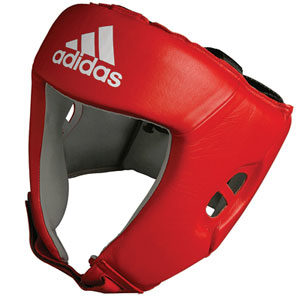 adidas AIBA Boxing Head Guard – Red
