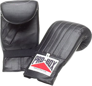 Pro-Box Champion Pre-Shaped Punch Bag Mitts x 5