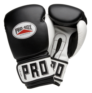 Pro-Box 'Club Essentials' Junior PU Training Gloves – Black