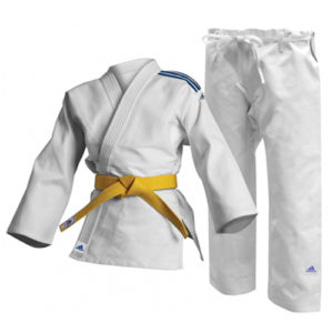 Adidas Club J250 Junior Judo Uniform – White 110cm