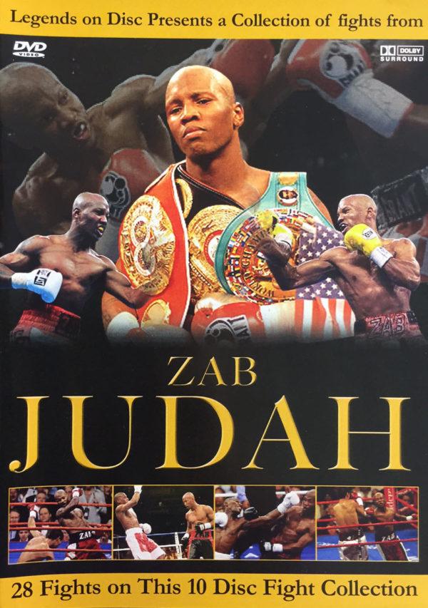 Legends on Disc – Zab Judah 28 Fights on 10 Discs