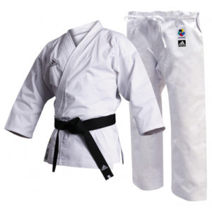 Adidas K220C WKF Club Karate Uniform – 8oz