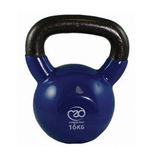 Fitness-Mad 16Kg Kettle Bell – Blue