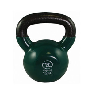Fitness-Mad 12Kg Kettle Bell – Green
