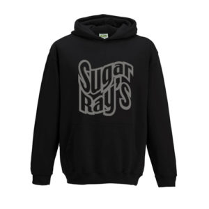 Sugar Ray's Junior Hooded Jumper – Black