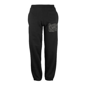 Sugar Ray's Junior Tracksuit Bottoms – Black