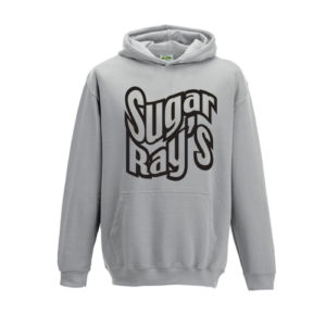 Sugar Ray's Junior Hooded Jumper – Grey