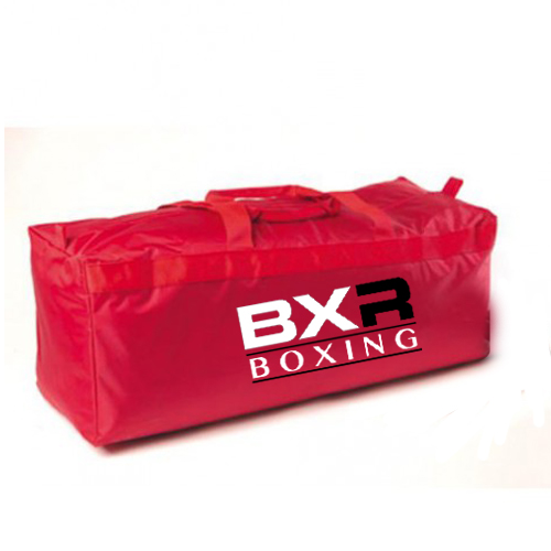 BXR Boxing Kit & Equipment Bag – Red