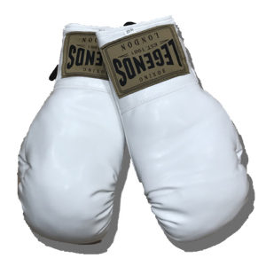 Legends London Autograph Gloves – White