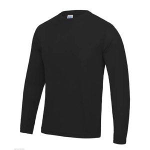 UNBRANDED Long Sleeve Cool Tee – Black