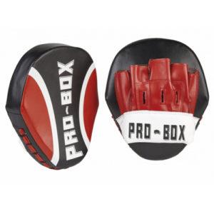 Pro-Box Club Essential PU Speed Pads GEN II – Black/Red/White