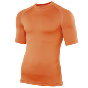 Rhino Performance Baselayer Shortsleeve – Orange