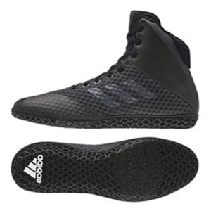 Adidas Mat Wizard 4 Wrestling / Boxing Boot – Black/Black