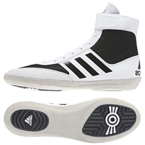 adidas Combat Speed IV Boxing Boot – White/Black
