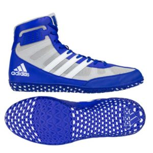 adidas Mat Wizard 3 Wrestling Shoe – Blue/White