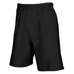 Fruit Of The Loom Lightweight Gym Training Shorts – Black