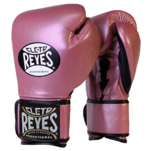 Cleto Reyes Hook and Loop Sparring Gloves –  Pearl Pink