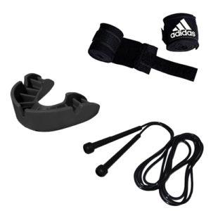 Boxing Mini Accessories Set Black