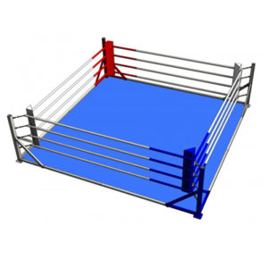Ampro Club Floor Mounted Boxing Ring