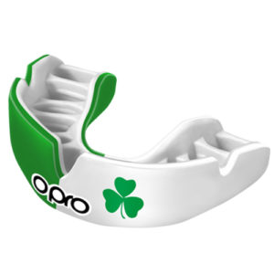 OPRO Power-Fit Mouthguard – Ireland [Green/White]