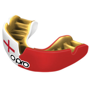 OPRO Power-Fit Mouthguard – England [Red/White]