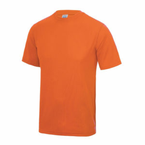 UNBRANDED Junior/Kids Lightweight Cool T-Shirt – Orange