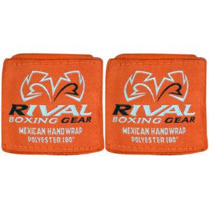 Rival Mexican 180″ Handwraps – Orange