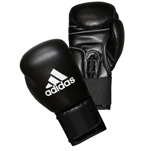 adidas 'PERFORMER' Boxing Gloves 'ClimaCool' – Black