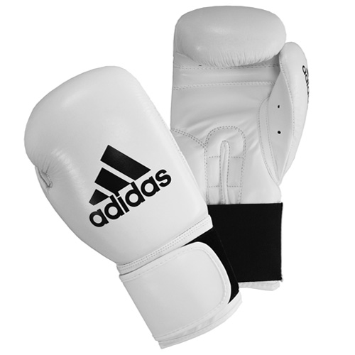 adidas 'PERFORMER' Boxing Gloves 'ClimaCool' - White - Sugar Rays