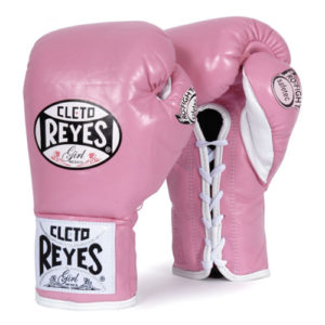 Cleto Reyes Safetec Profight Boxing Glove – Pink