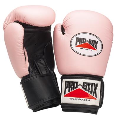 Pro-Box Women's Leather Training Gloves – Blue