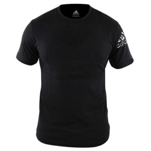 Adidas Plain Promo Round Neck T-Shirt – Black