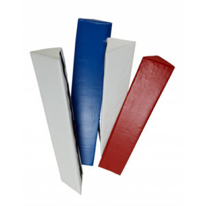 Plain / Unbranded Corner Post Protectors [2x White, 1x Blue, 1x Red]