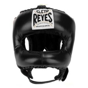 Cleto Reyes Headguard With Nylon Pointed Bar – Black