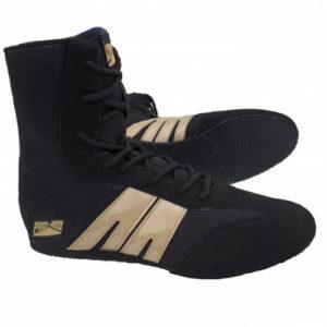Pro-Box Junior/Kids Boxing Boot – Black/Gold