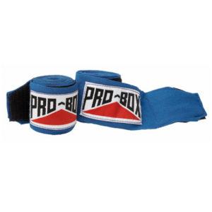 Pro-Box Junior AIBA Spec Hand Wraps – Blue