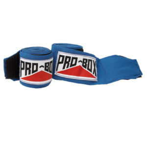 Pro-Box Stretchable Boxing Hand Wraps – Blue